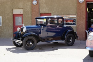 1930 Model A Ford Deluxe Coupe